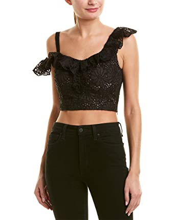 1d9b55e4763bd Image Unavailable. Image not available for. Color  Rebecca Taylor Womens One -Shoulder Silk Top ...