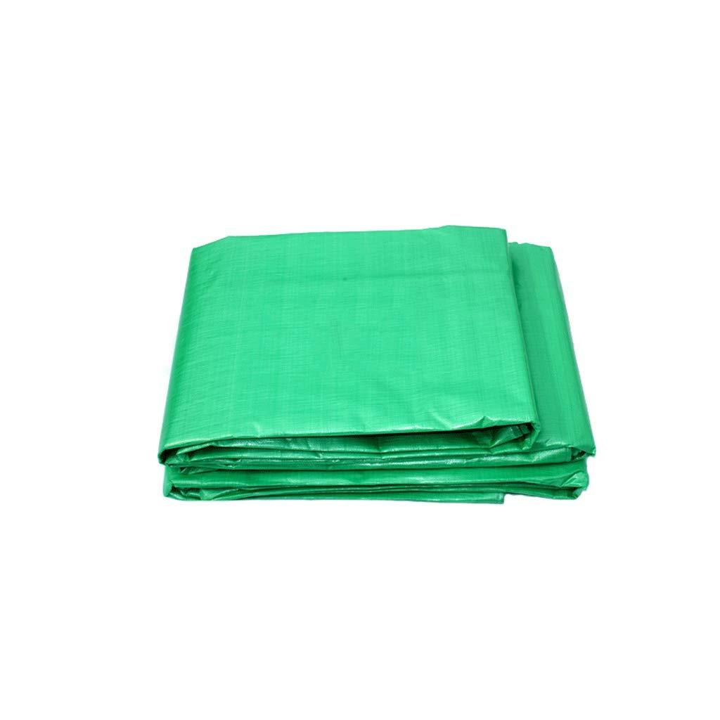 Plane LCSHAN Regenfestes Tuch im Freien verdickendes Wasserdichtes staubdichtes grünes Mode-Plastiktuch (größe   5  7m)