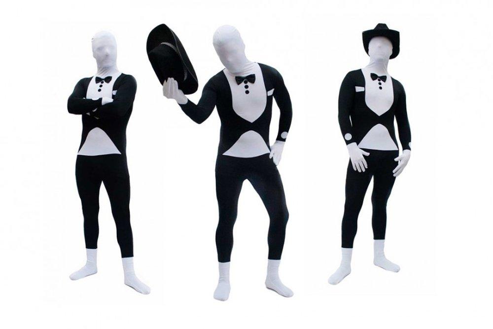 Goods Gadgets Spandex Lycra Ganzkörperanzug Body Suit Kostüm Anzug