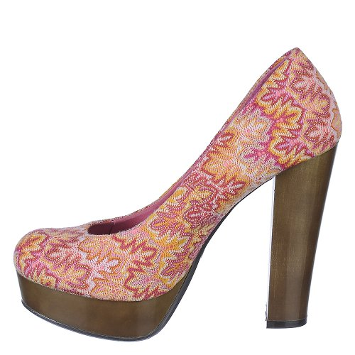 Heel Zooey Bamboo Womens Zooey Coral Womens 01 01 High Dress Bamboo 6zgcP