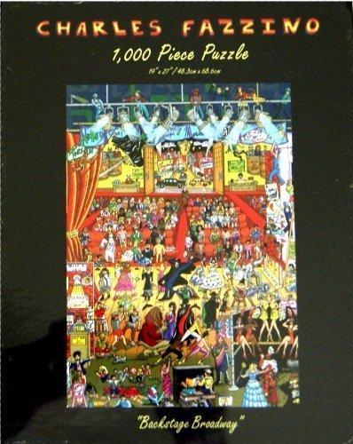 CHARLES FAZZINO Backstage Broadway 1000 Piece Puzzle