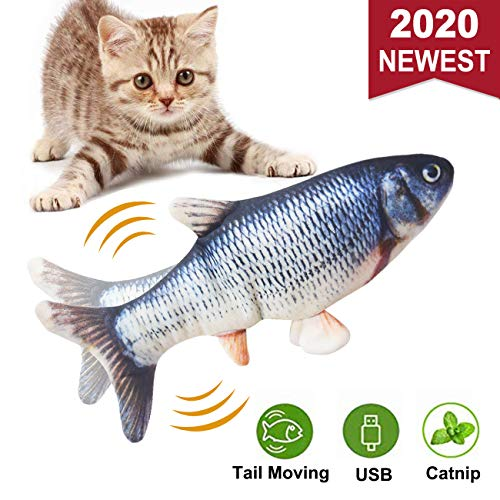 Malier Moving Catnip Fish