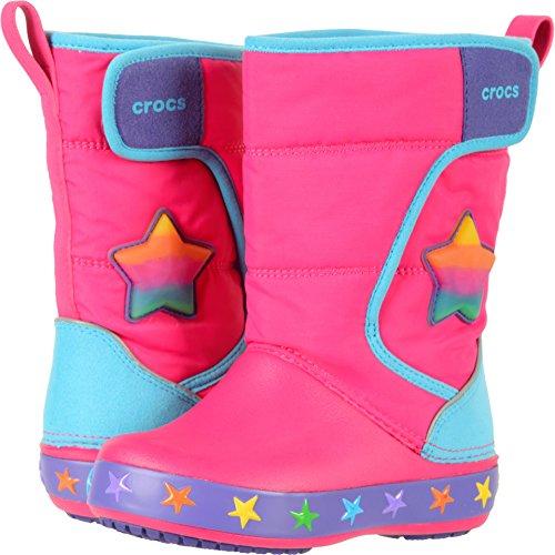 Crocs Kids' LodgePoint Lights Star Snow Boot