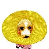 Walmeck Dog Elizabeth Circle Dog Collar Cat Collar Dog Collar Dog Anti-Bite Circle Cat Head Dog Dog Head Dog Supplies Petal