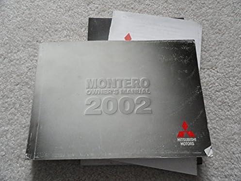 2002 mitsubishi montero sport owners manual mitsubishi amazon com rh amazon com 2002 mitsubishi montero sport repair manual free 2002 mitsubishi pajero owners manual