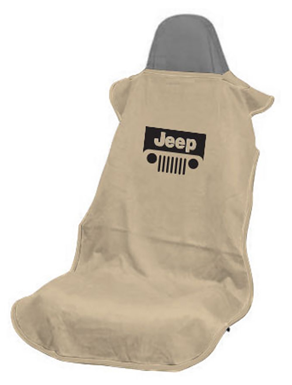 Seat Armour SA100JEPGB Black 'Jeep with Grille' Seat Cover