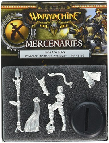 Privateer Press - Warmachine - Mercenary: Fiona The Black Privateer Model Kit 3