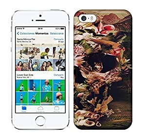 Best Power(Tm) HD Colorful Painted Watercolor Jungle Skull Hard For SamSung Galaxy S4 Phone Case Cover