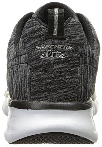 Spot Synergy Fashion US 5 M On Sneaker 6 Women Heather Sport Black Skechers qEcXtt