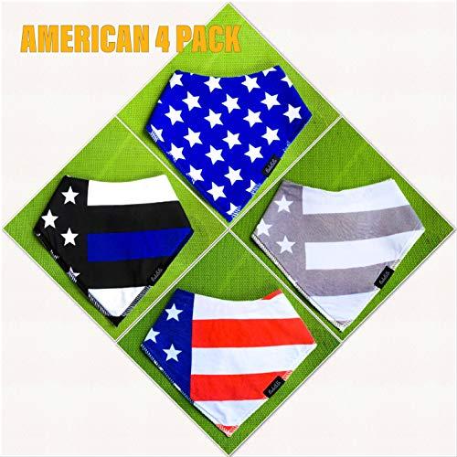 American Flag Bib - 5