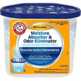 Arm & Hammer FGAH14R Moisture Absorber, Blue, 14 oz. Tub