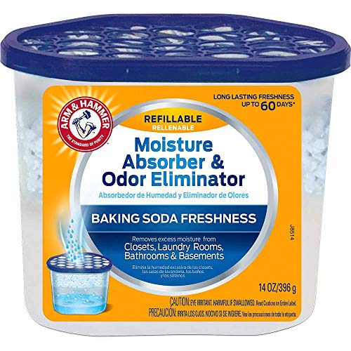 Price comparison product image Arm & Hammer FGAH14R Moisture Absorber,  Blue,  14 oz. Tub