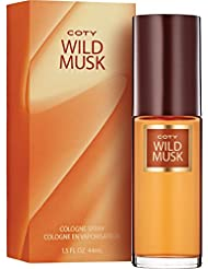 Coty Wild Musk Cologne Spray, 1.5 Ounce