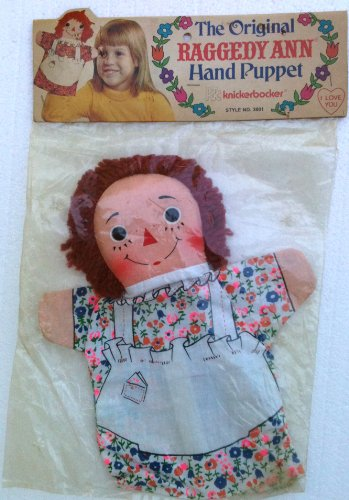 1973 Raggedy Ann Hand Puppet By Knickerbocker 10