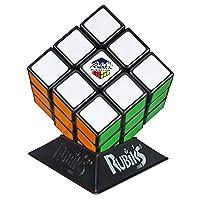 Hasbro Gaming Rubik's 3X3 Cube, juego de rompecabezas, colores clásicos