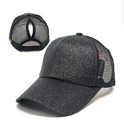 C C BEANIE Exclusives Ponytail caps Messy Buns Trucker Plain Baseball Cap ee9316c2be5c