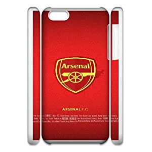 iphone 5c Cell Phone Case 3D Sports arsenal 4 gift zhm004-9313128