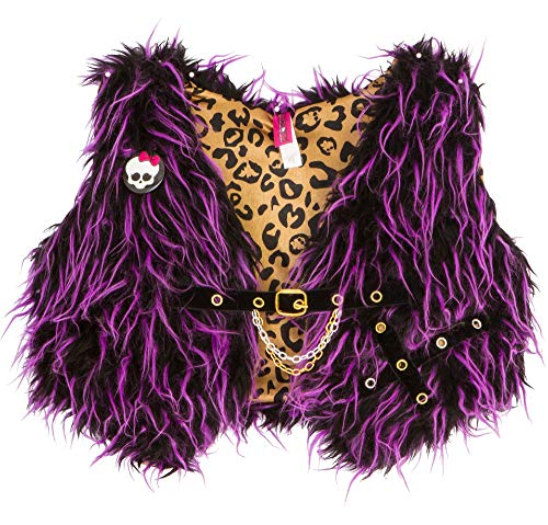 (Monster High Furry Vest, Halloween Costume Accessory for Girls, One Size, by)