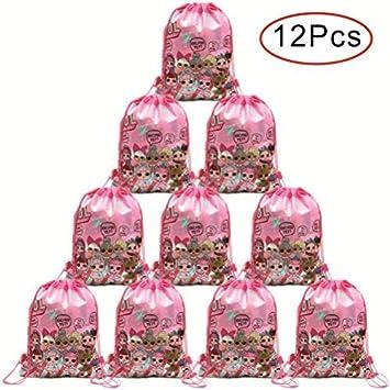 Micher 12 Pack LOL Bolsa de fiesta con lazo, Favores de ...