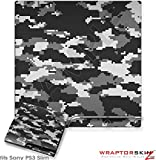 Sony PS3 Slim Skin WraptorCamo Digital Gray