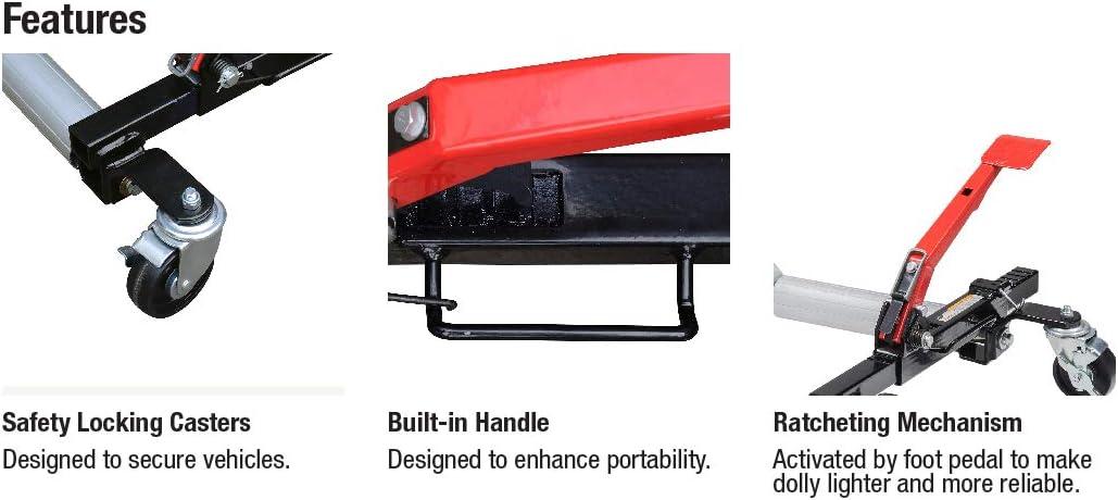 Sunex 1500-Pound Hydraulic Wheel Dolly: Home Improvement