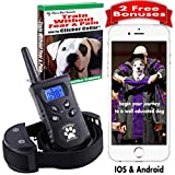 Cheap Dog Training Collar With Remote. Shock Collar. Clicker Training for Puppies. 500 yards 100 levels. The Best No Bark Collar Training Book & App Pet Corrector & E Collar Dog Training