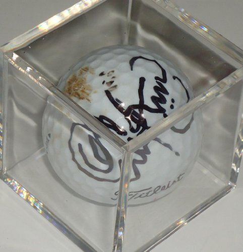 Signed Golf Ball Masters - Christina Kim signed used LPGA Golf ball - Masters - British Open -Comes with a Certificate of Authenticity * Autographed Golf Balls