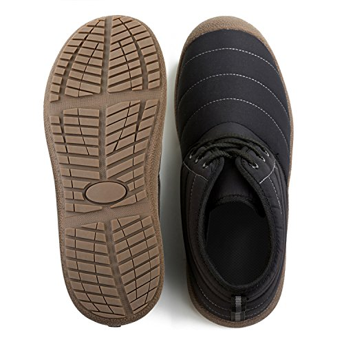 Winter Boots Outdoor Waterproof L Comfortable Ankle Snow Black RUN Booties Womens qxIgE