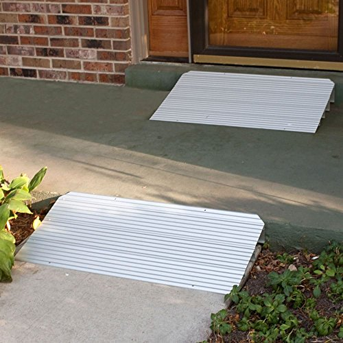 Silver Spring Rage Powersports THR1 Aluminum Threshold Ramp by Silver Spring (Image #1)