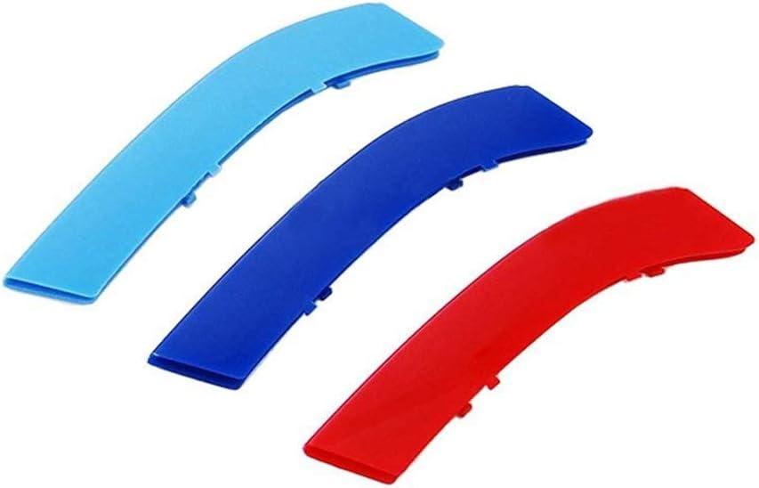 sourcingmap Longueur 15cm voiture bleue l/èvre pare-chocs r/églable support tirant Splitter 2pcs
