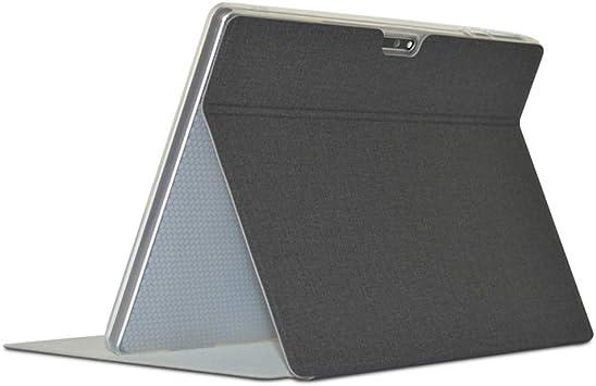 Estuche para tabletas comerciales para Teclast M30, estuche de cuero PU plegable para Teclast M30 (negro): Amazon.es: Electrónica