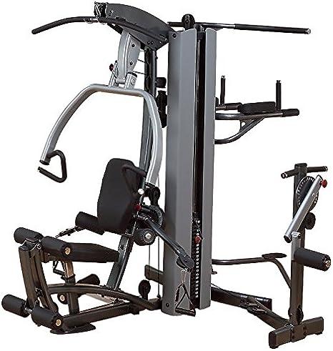 Body-Solid Fusion 500 gimnasio en casa (F500/2) con libre multi-hip accesorio. También incluye