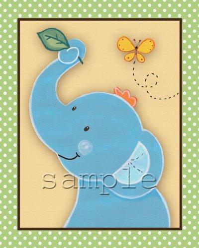 Animal Pals - Peek a Boo Friends Nursery Art Prints (16