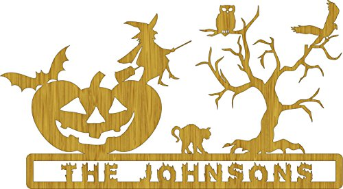 Personalized Halloween Pumpkin Scroll Saw Pattern