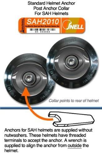 Hans Device Post Collar Anchor Helmet Attachment Standard Series Fitting Sah Helmets By Hans Device Auto