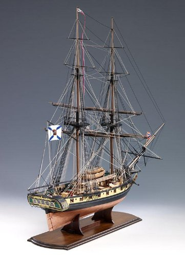 (Mercury Russian Brig - Wooden Model Ship Kit by)