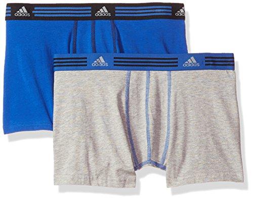 adidas Men's Athletic Stretch Cotton Trunk Underwear (2-Pack)