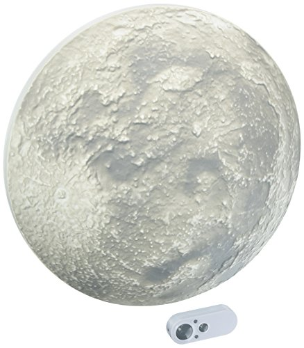 Uncle Milton Super Moon In My Room - Deluxe Light-up Moon Night Light - STEM Learning Toy -