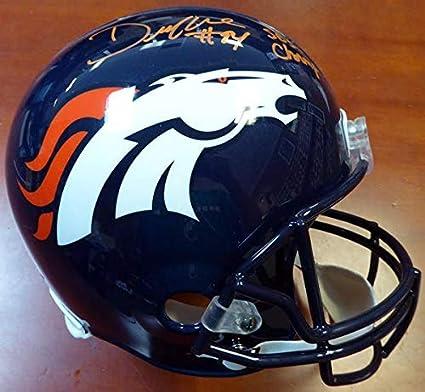 b7ef7d3fbe2 DeMarcus Ware Autographed Denver Broncos Full Size Helmet quot SB 50  Champs quot  ITP Stock