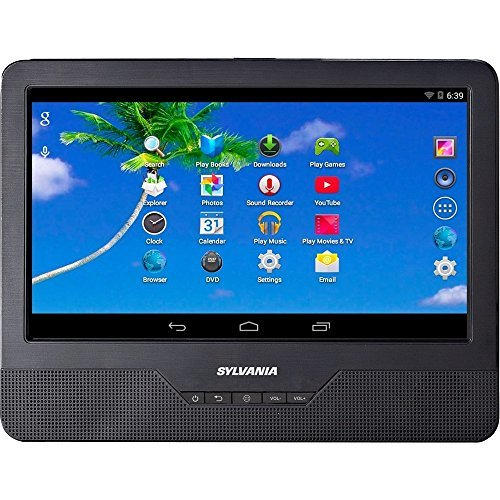 Sylvania SLTDVD9220 9'' Android Tablet with Integrated Portable DVD Player (Certified Refurbished) by Curtis