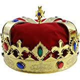 Royal Jeweled King's Crown - Costume Accessory - Funny Party Hats®