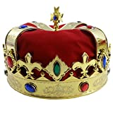 Best Funny Party Hats Costumes - Royal Jeweled King's Crown - Costume Accessory Review