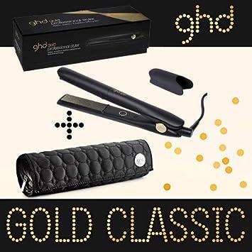 Ghd Fer A Lisser Styler Gold Plaque Moyenne Classic Avec Pochette Ghd Ronde Amazon Fr Hygiãšne Et Soins Du Corps