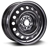 Steel Rim 15X6, 5X100, 54.1, +39, black finish (MULTI APPLICATION FITMENT) X45921