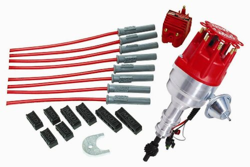 MSD Ignition 84747 RTR Distributor Kit for Ford 351C-460 Crate Motor
