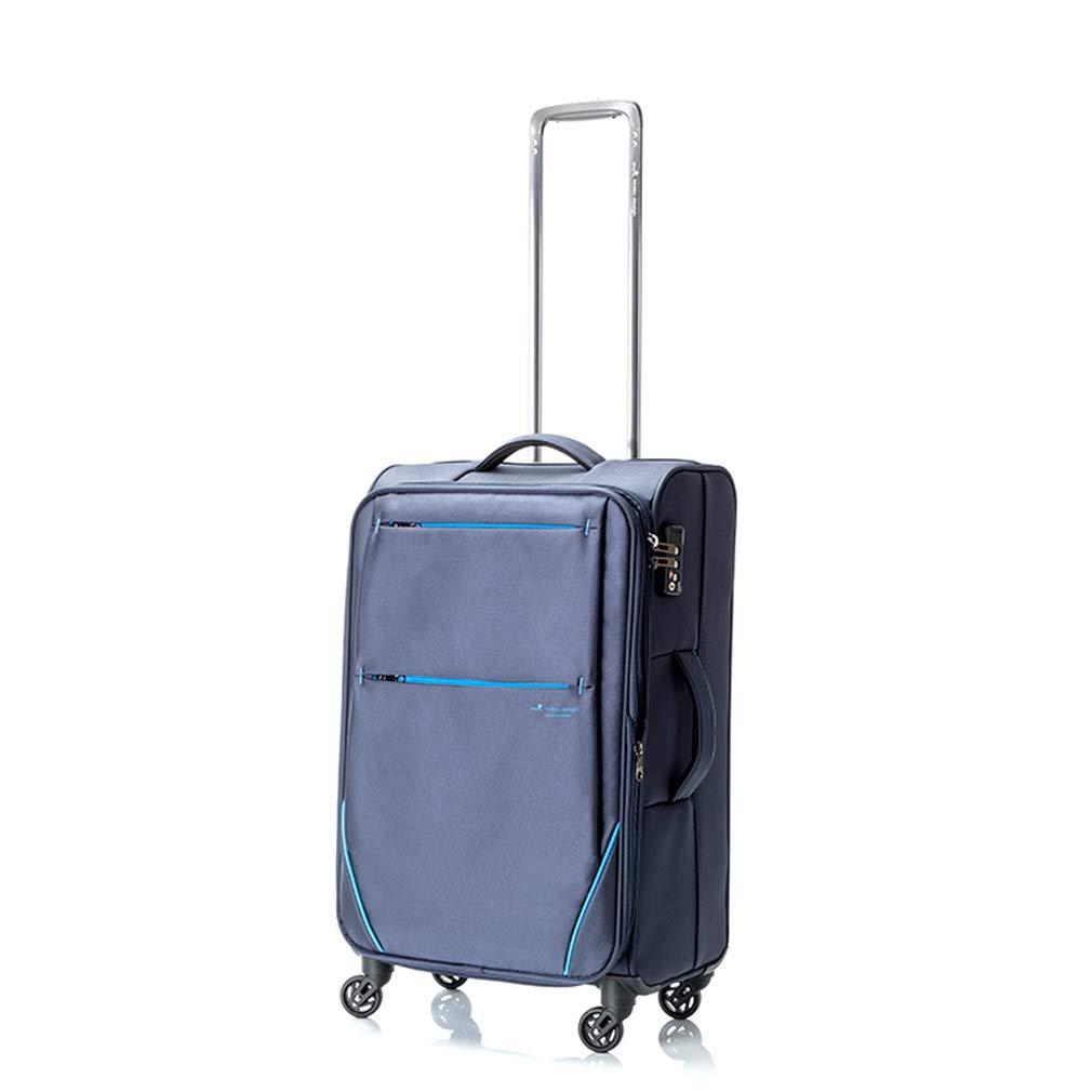 ヒデオワカマツ HIDEO WAKAMATSU フライⅡ スーツケース 85-76012 ネイビー 代引き不可[bg]   B07KHSNR4M