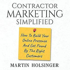 Contractor Marketing Simplified Audiobook