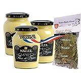 3 x french shortbread 200 gr-sables LA MERE POULARD + 1 bag of madeleines Théodore Bardin-Cuinet