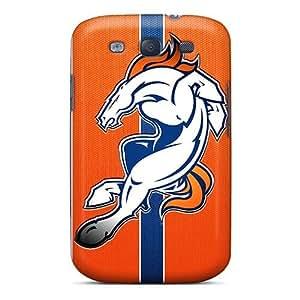 Awesome TDl1897eKjh Elaney Defender Tpu Hard Case Cover For Galaxy S3- Denver Broncos