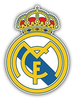 Real Madrid FC Spain Soccer Football Vinyl Sticker 4 X 5 inches